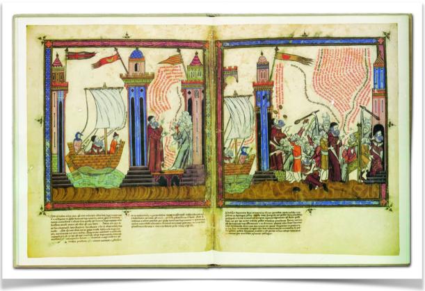 106 Miniatures del manuscrit de Karlsruhe