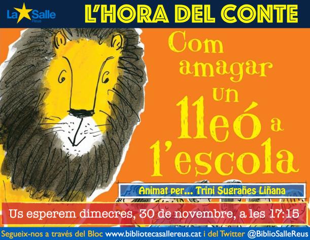 152-lhora-del-conte-com-amagar-un-lleo-a-lescola