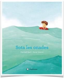 Portada del llibre Sota les onades